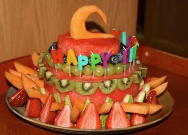 Happy Vegan Birthday Cake Design Ideas