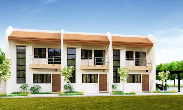 Ofw business ideas 4 doors concrete apartment at p175k for Up and down house design in the philippines