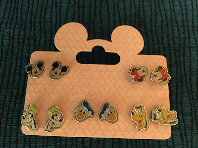 Disney character earrings