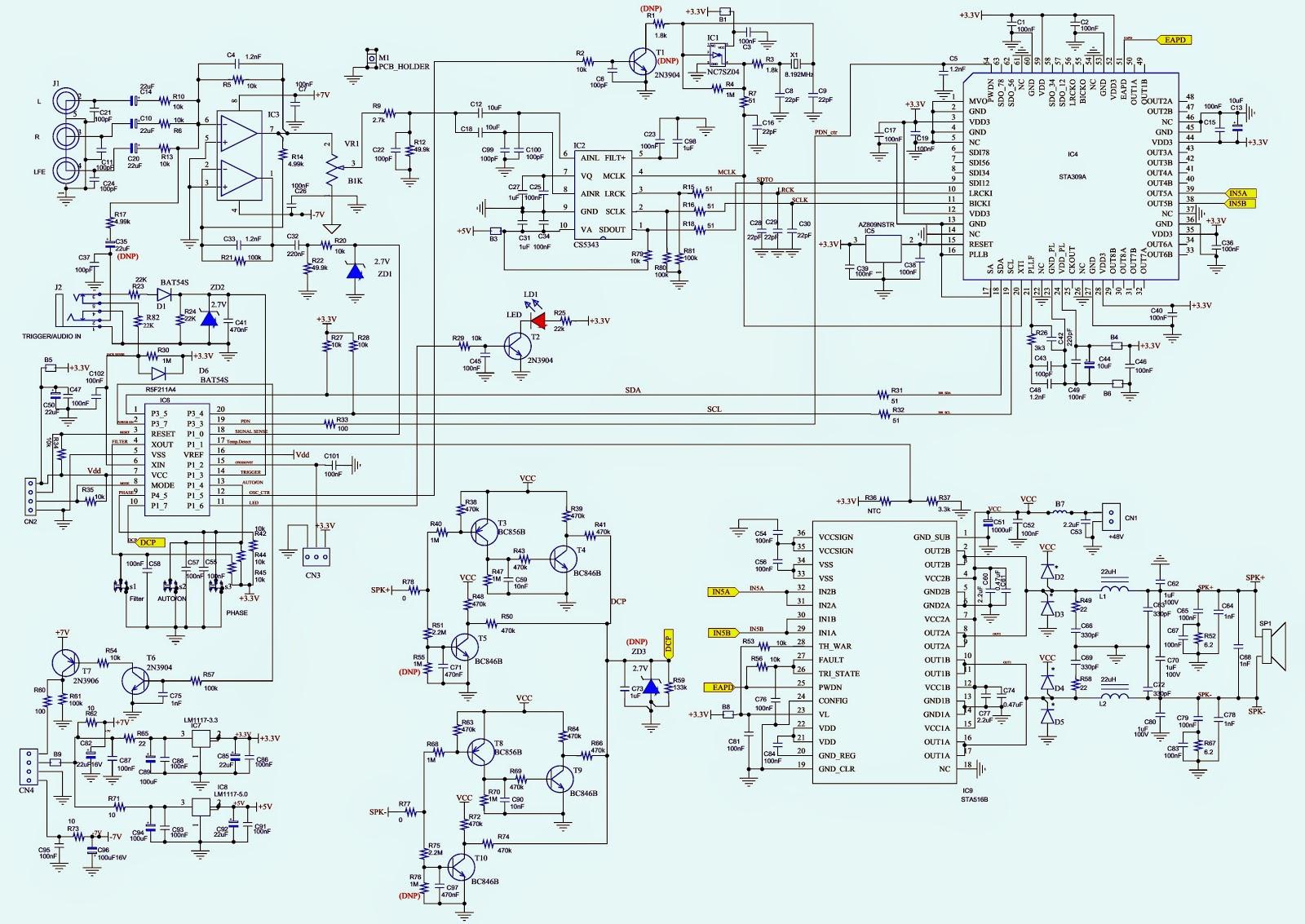 Walkie Talkies Circuit Diagrams Diagram Of Talkie