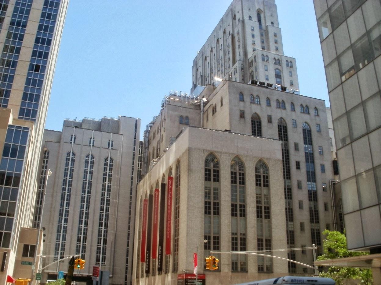 Cornell Hospital Nyc >> Midtown Blogger/Manhattan Valley Follies: Weill Cornell ...