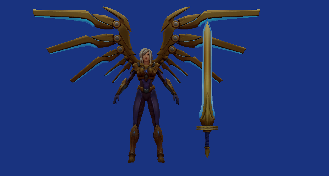 League of Legends The Skinner: New Skikn :: Aether Wing Kayle
