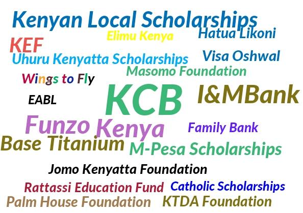 Scholarships for high school, college university