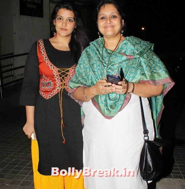 Sanah Kapoor and Supriya Pathak, Vidya Balan, Dia Mirza at Special Screening of Bobby Jasoos