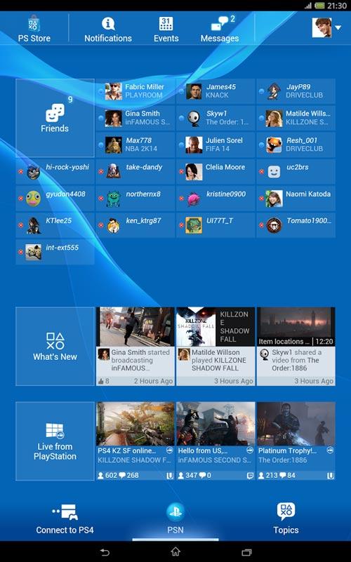 PlayStation®App 3.0.7
