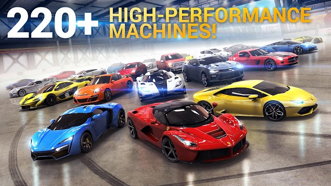 Try Asphalt 8: Airborne if you are speed enthusiast