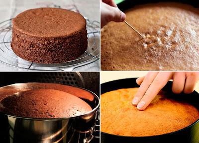 воздушный шоколадный бисквит