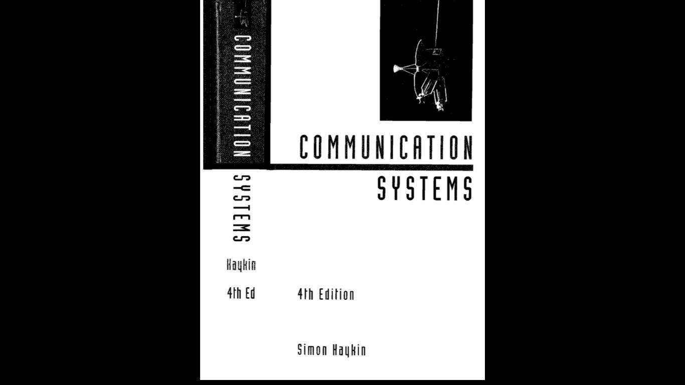 analog and digital communication by simon haykin pdf free download