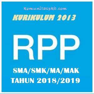 Download RPP Bahasa Indonesia Kurikulum 2013 SMA/SMK/MA Kelas X,XI,XII Tahun 2018