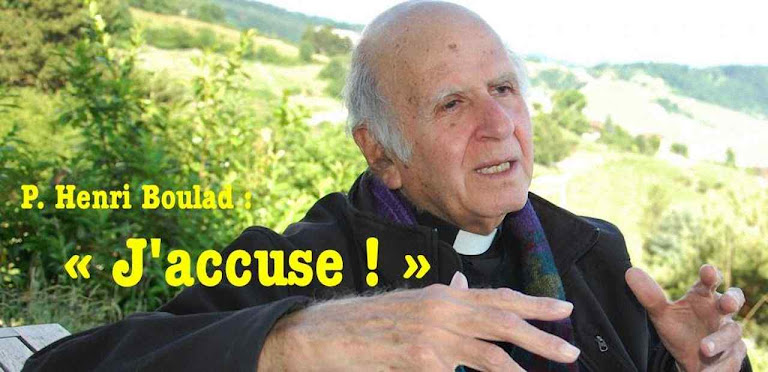 """O """"eu acuso!"""" do Pe. Henri Boulad SJ: """"a religião muçulmana é uma religião da espada"""""""