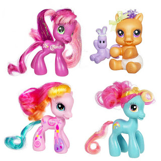 All My Little Pony G3.5 Ponies