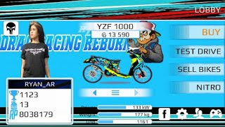 Drag Racing Evo Bike Mod Indonesia Edition