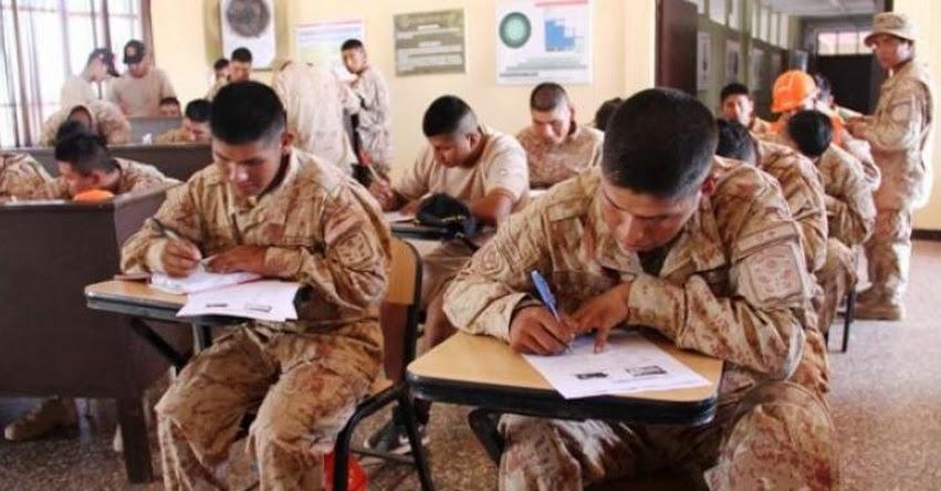 PRONABEC: Personal militar es beneficiado con exámenes de admisión descentralizados - www.pronabec.gob.pe