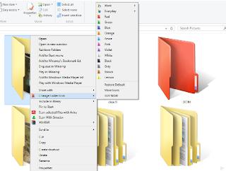 Folderico PC Software perubahan ikon Opsi