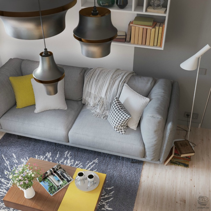 Apartamento para dos diseñado al detalle