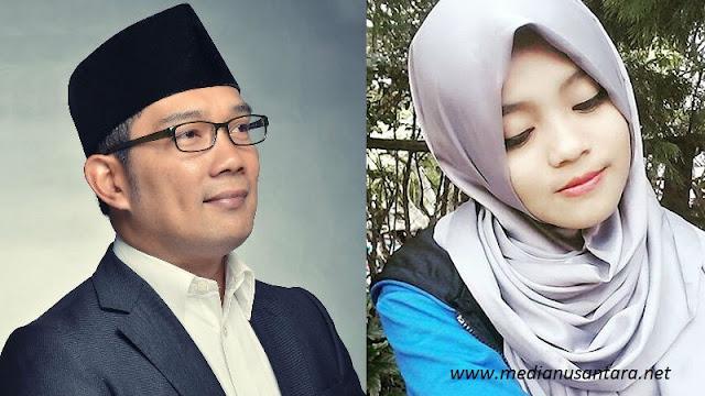 Waow..!!! Gara Gara Postingan Ridwan Kamil, Remaja Cantik Ini Menuai Banyak Pinangan. Alasannya Bikin Geleng-geleng...