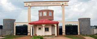 Education: EKSU students protest high charges of internet connection