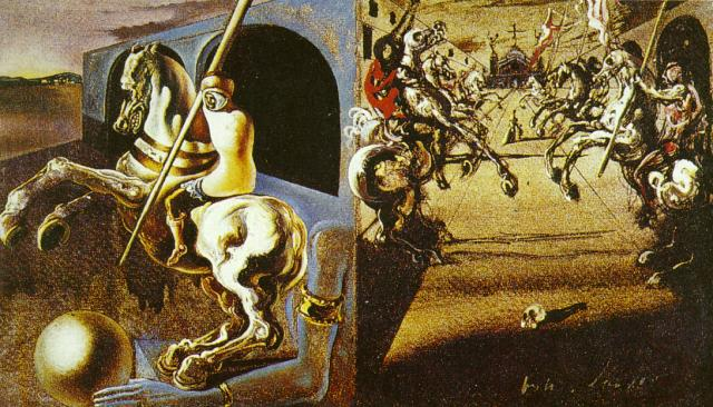 Salvador Dali Wallpaper, Painting Wallpaper, Pictures |Salvador Dali Dog Paintings