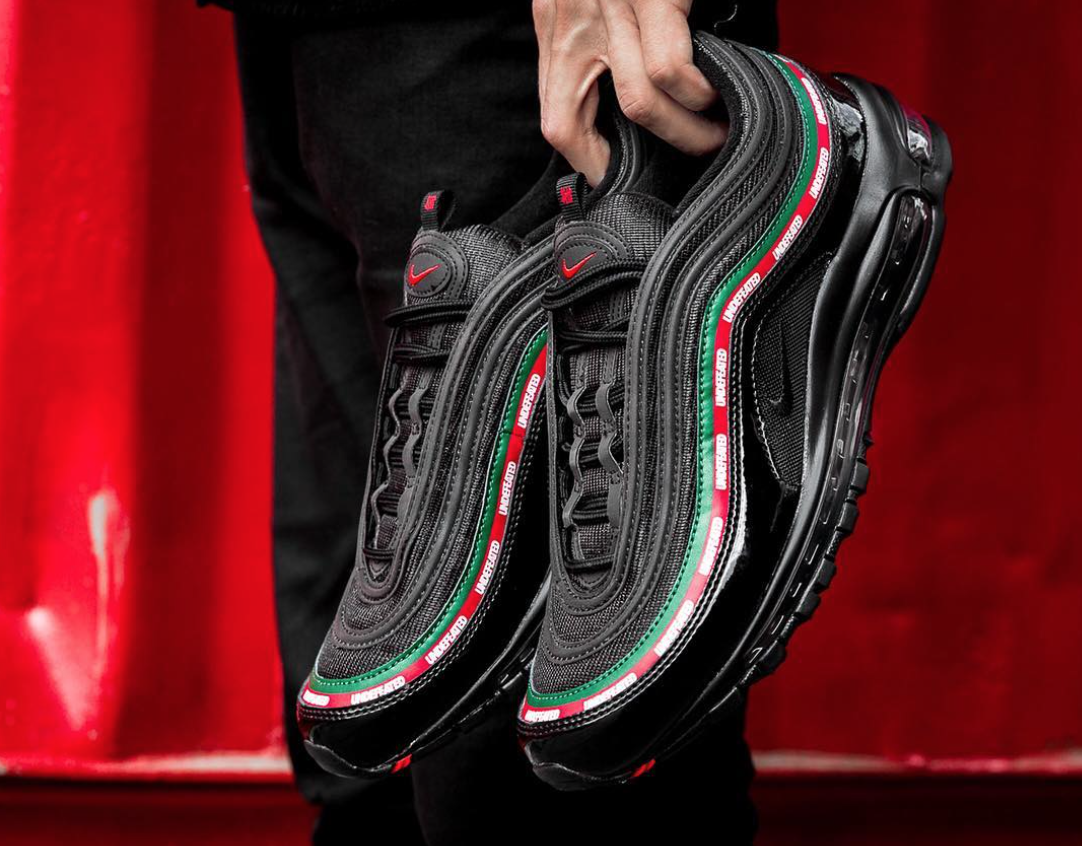 super popular 25904 112fa The Real Dwayne Allen.com: Undefeated x Nike Air Max 97 Black