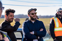 Dominic Cooper and Seth Rogen on the set of Preacher Season 2 (6)