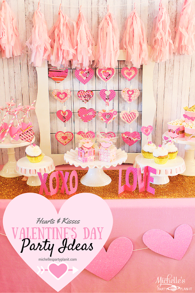 This week's party gals linky party is bursting with lovely Valentine's Day inspiration from party ideas to free printables. Come check out the lovely ideas