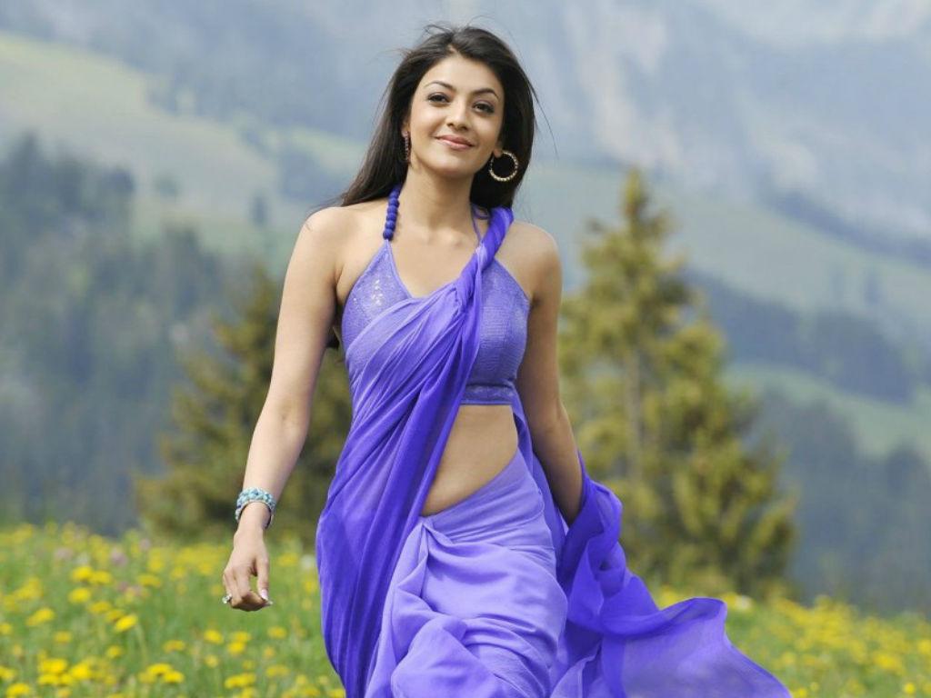 Kajal Aggarwal - A South Indian Actress Hot pics sexy Saree Images