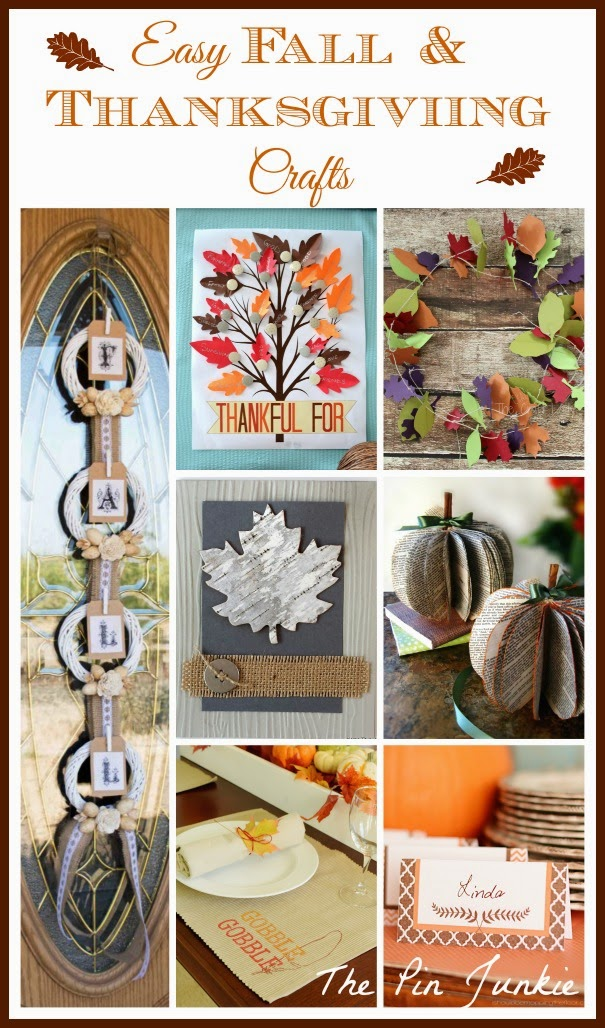 Easy Fall & Thanksgiving Crafts