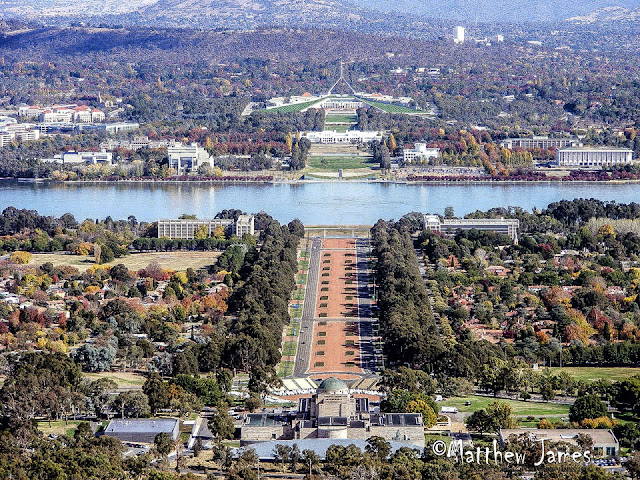 CANBERRA CITY FROM MT AINSLIE