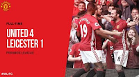 Manchester United vs Leicester City 4–1 Video Gol & Full Match Highlights