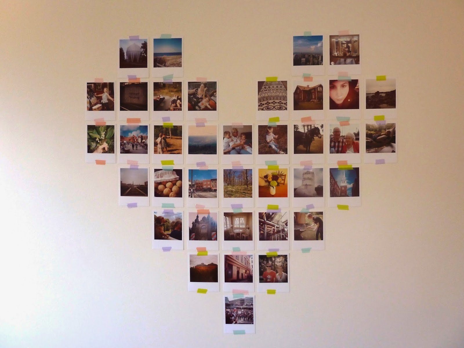 Nordic Craft Instagram Wall Collage