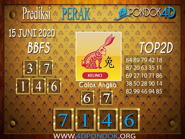 Prediksi Togel PERAK PONDOK4D 15 JUNI 2020