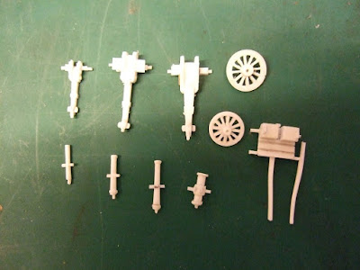 10mm British Napoleonic Artillery Lancer Miniatures