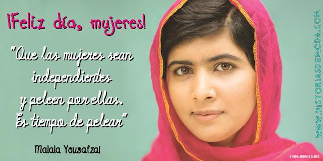 Resultado de imagen de frases de malala yousafzai