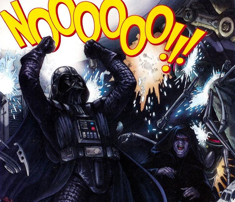 Дарт Вейдер: Неееееет!!!
