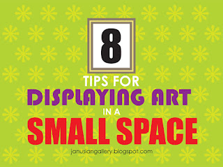 header art on 8 Tips for Displaying Art in a Small Space article