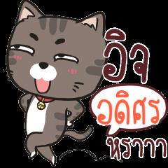 ADISORN charcoal meow