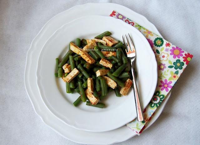 Fasolka z tofu - smaczna, zdrowa wegańska przekąska