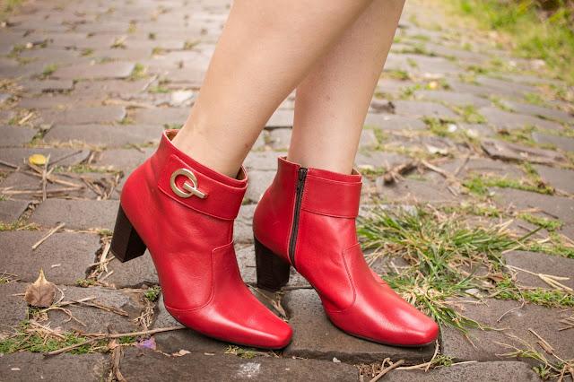 como usar bota vermelha, combinar bota vermelha, look com bota vermelha, bota vermelha outfit, blog camila andrade, blogueira de moda em ribeirão preto, fashion blogger em ribeirão preto, blog de dicas de moda, o melhor blog de moda, blog de moda do interior paulista