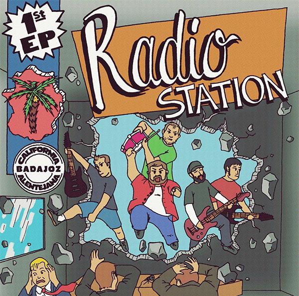"Radio Station stream new EP ""1st EP"""