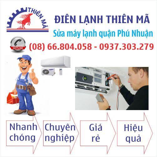 Sửa máy lạnh tận nhà tại quận Phú Nhuận
