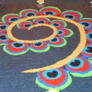 Very Easy Rangoli Designs For Diwali