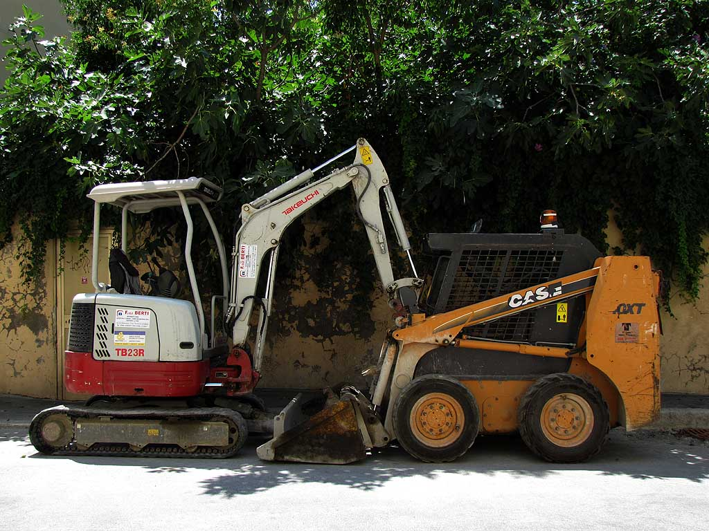 Excavators in intimacy, Livorno