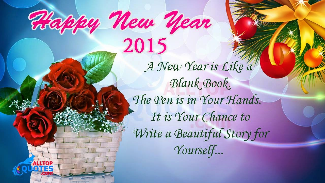 Happy New Year 2015 Beautiful Quotations English - All Top ...