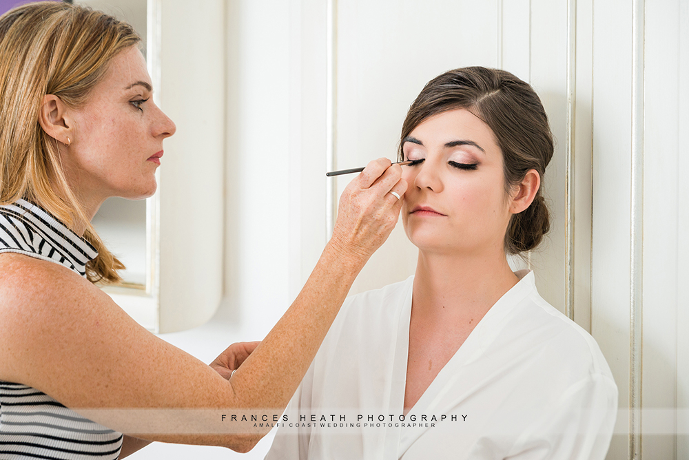 Bridal makeup by Nicole Storey