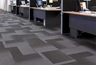 Carpet Tile Untuk Lantai Area Perkantoran