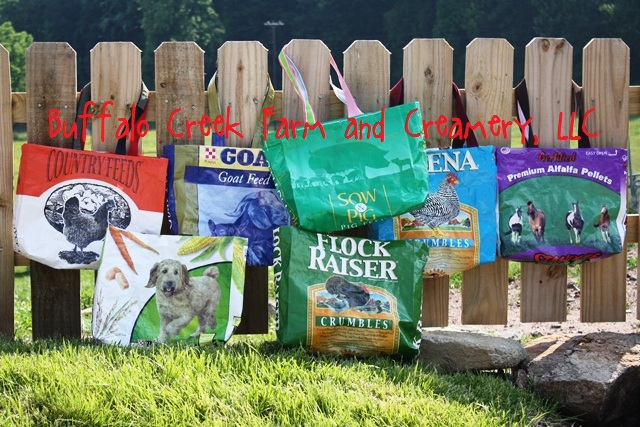 We Ve Added Pig Horse And Bird Tote Bags To The Original Assortment Of Goat En Cat Dog Feed