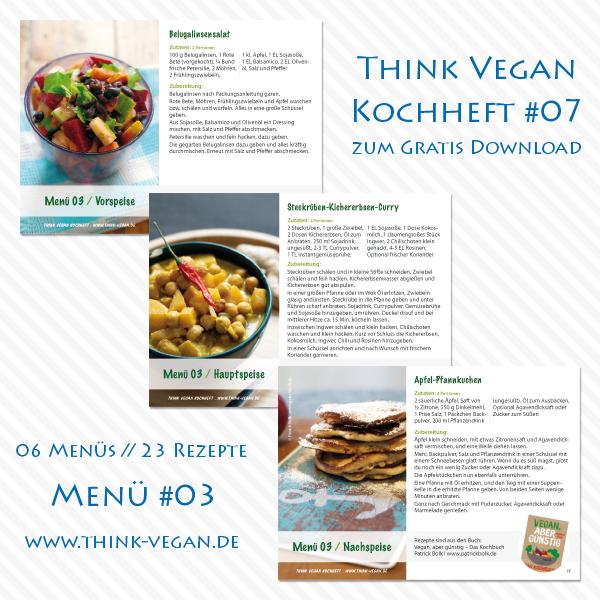 Think Vegan Kochheft #07 // Menü #03