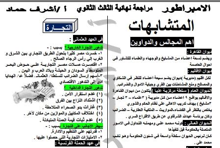 المراجعة النهائية تاريخ 3ث  أ/ أشرف حماد  54