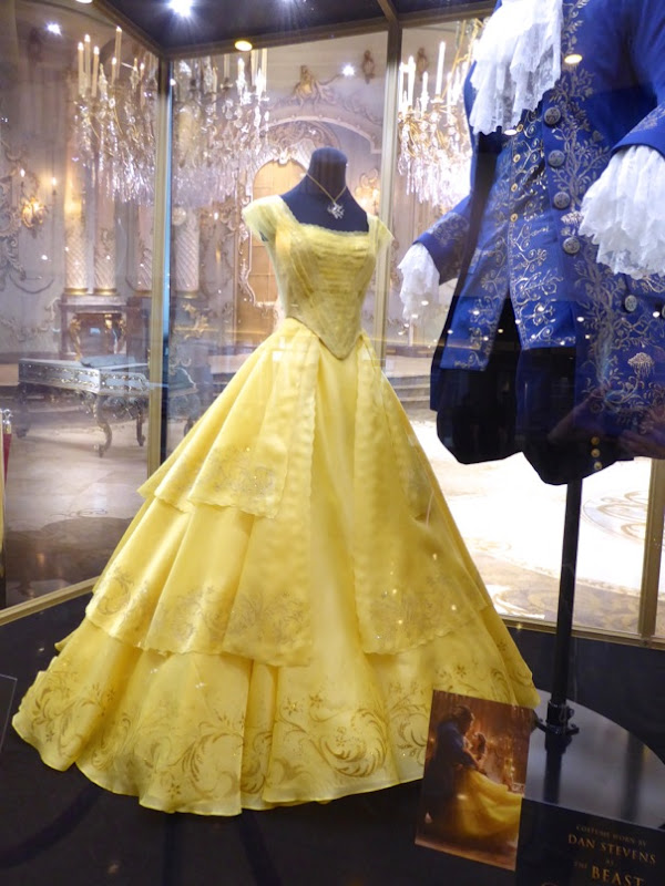 Emma Watson Beauty and Beast live-action Belle costume