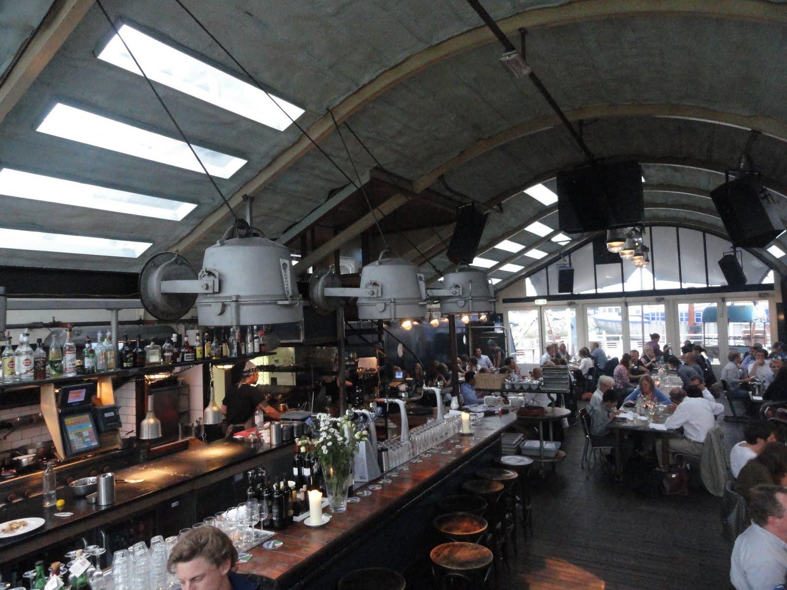 Playground Restaurant Pont 13 Amsterdam